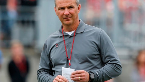 Ohio State football coach Urban Meyer on administrative leave