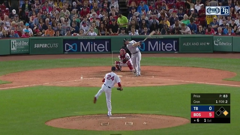 WATCH: C.J. Cron blasts 464 ft homer to tie franchise record
