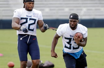 Coach: Derrick Henry, Dion Lewis make a potent backfield duo