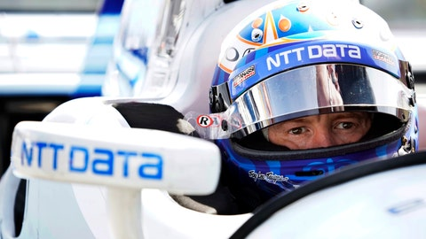 <p>               FILE - In this Sept. 1, 2017, file photo, Scott Dixon sits in his car before a practice session for the IndyCar Series auto race in Watkins Glen, N.Y. ixon will likely finish his career with Chip Ganassi Racing under a new contract for one of IndyCar's greatest drivers. The extension announced Monday, Aug. 13, 2018, puts Dixon behind the wheel of the PNC Bank-sponsored entry and ends all speculation he'd leave Ganassi after 17 seasons to join Fernando Alonso on a new McLaren team.  (AP Photo/Matt Slocum, File)             </p>