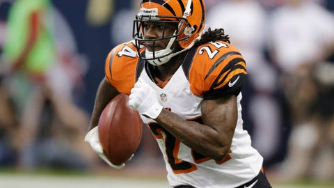 <p>               FILE - In this Jan. 5, 2013, file photo, Cincinnati Bengals' Adam Jones runs the ball against the Houston Texans during an NFL wild card playoff football game in Houston. Veteran cornerback Adam 'Pacman' Jones signed a one-year contract with the Denver Broncos, Sunday, Aug. 26, 2018. The 35-year-old Jones had his best NFL seasons while Broncos current head coach Vance Joseph was his secondary coach with the Cincinnati Bengals. (AP Photo/Eric Gay, File)             </p>