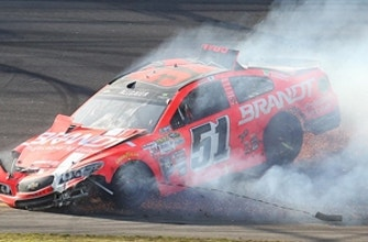 Justin Allgaier says he thought his move to the Cup Series might ruin his career