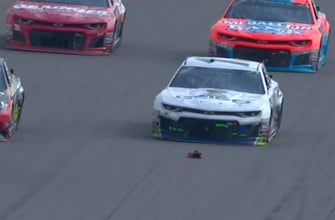 Next Level: Breaking down how debris caused Ty Dillon to wreck at Michigan