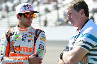 Chase Elliott says he'd love to race his dad at Road America, but that it won't happen