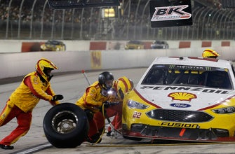 Joey Logano on what makes pit road at Darlington one of the hardest in NASCAR