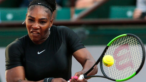 "<p>               FILE - In thisThursday, May 31, 2018 file photo, United States' Serena Williams returns a shot against Australia's Ashleigh Barty during their second round match of the French Open tennis tournament at the Roland Garros stadium in Paris, France. Serena Williams says her relationship with the French Open is fine despite the Grand Slam tournament's plan to ban her skin-tight black catsuit. ""When it comes to fashion, you don't want to be a repeat offender,"" she said Saturday, Aug. 25, 2018 during her press conference before the U.S. Open. (AP Photo/Thibault Camus, File)             </p>"