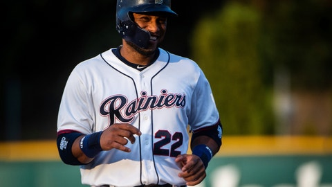 <p>               FILE - In this Monday, Aug. 6, 2018, file photo, Robinson Cano smiles on the field during his first rehab start with the Tacoma Rainiers at Cheney Stadium in Tacoma, Wash. Cano is set to return from his 80-game suspension for violating baseball's drug agreement when Seattle plays at Oakland. The All-Star second baseman has been out since May 15, though he's been playing in the minor leagues for the past week. (Joshua Bessex/The News Tribune via AP, File)             </p>