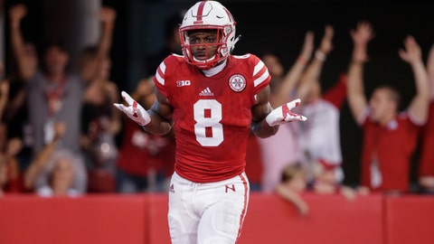 <p>               FILE - In this Sept. 2, 2017 file photo Nebraska wide receiver Stanley Morgan Jr. (8) reacts after catching a touchdown pass during the first half of an NCAA college football game against Arkansas State in Lincoln, Neb. Football being, in many ways, the ultimate team game can make it difficult for good players to shine when the players around them are ... not so good. Cornhuskers fans are looking toward a hopeful future with new coach Scott Frost after going 4-8 last season under Mike Riley. There is much rebuilding to do and Nebraska has a difficult schedule in 2018 with road games at Michigan, Ohio State and Wisconsin. A major turnaround would take a minor miracle by Frost. Morgan, though, should be one of the best receivers in the Big Ten as a senior. He caught 61 passes for 986 yards and 10 touchdowns last year. (AP Photo/Nati Harnik, file)             </p>