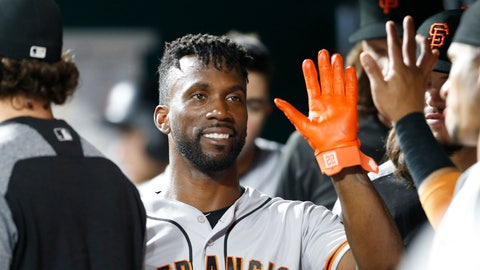 <p>               FILE - In this Aug. 18, 2018, file photo, San Francisco Giants' Andrew McCutchen, center, is congratulated in the dugout after scoring during the eighth inning of a baseball game against the Cincinnati Reds, in Cincinnati.The playoff-contending New York Yankees are close to completing a trade for San Francisco Giants outfielder Andrew McCutchen. A person familiar with the negotiations told The Associated Press on Thursday night, Aug. 30, 2018,  the Yankees would send infielder Abiatal Avelino and another minor leaguer to San Francisco for McCutchen. The person spoke on condition of anonymity because the deal wasn't finalized. (AP Photo/Gary Landers, File)             </p>