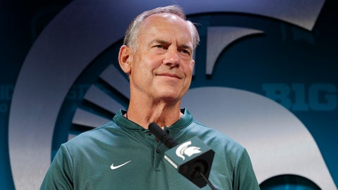 <p>               FILE - In this Aug. 6, 2018 file photo Michigan State coach Mark Dantonio addresses reporters during the team's NCAA college football media day in East Lansing, Mich. Michigan State can't win enough football games this season to change the ugliness of the school's recent past. The Larry Nassar sex abuse scandal and lingering questions about the school's football and basketball programs have put the university under a bad spotlight. This year's football team is hoping that players have learned the right lessons. The players remind each other to make good choices and avoid stupid behavior. (AP Photo/Al Goldis, file)             </p>