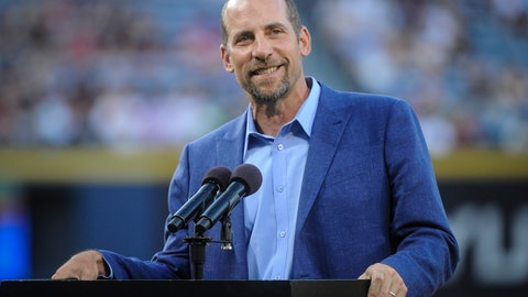 <p>               FILE - In this Aug. 14, 2015, file photo, pitcher John Smoltz is honored for his induction into the Baseball Hall of Fame before the start of a baseball game against the Arizona Diamondbacks, in Atlanta. Smoltz says baseball needs to make some changes _ and fast _ to make the game more watchable and more appealing to fans both young and old.  Smoltz told PodcastOne Sports Now co-hosts Tim Dahlberg and Jim Litke that baseball needs to deal with the way the game has changed because of analytics and implement rule changes to make sure decisions aren't always ruled by people using spreadsheets. He said the game is running itself into the ground and isn't sustainable as it is being played today.  (AP Photo/John Amis, File)             </p>