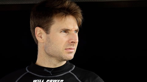<p>               Will Power looks out from his pit box before a practice session for Sunday's IndyCar series auto race, Saturday, Aug. 18, 2018, in Long Pond, Pa. (AP Photo/Matt Slocum)             </p>