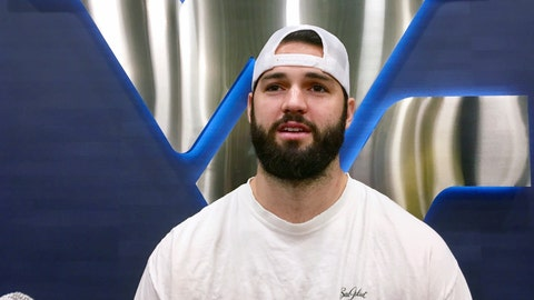 <p>               In this Aug. 6, 2018, photo West Virginia quarterback Will Grier speaks during an interview in Morgantown, W.Va. Grier missed most of the last three games of the 2017 season with a broken finger on his throwing hand. The senior hopes to lead West Virginia to a Big 12 championship this season. (AP Photo/John Raby)             </p>
