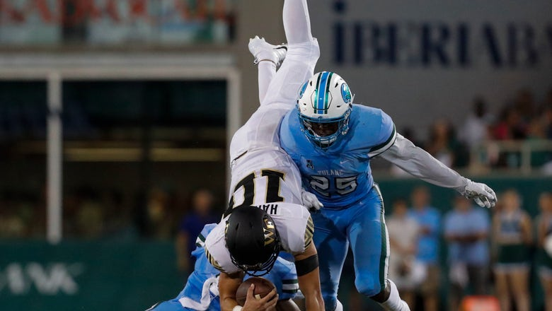 Wake Forest survives to beat Tulane 23-17 in OT