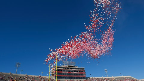 <p>               FILE- In this Oct. 14, 2017, file photo balloons are released in Memorial Stadium before an NCAA college football game between Indiana and Michigan in Bloomington, Ind. The celebration of releasing balloons into the air has long bothered environmentalists, who say the pieces that fall back to earth can be deadly to seabirds and turtles that eat them. So as companies vow to banish plastic straws, there are signs balloons are among the products getting more scrutiny.  (AP Photo/AJ Mast, File)             </p>