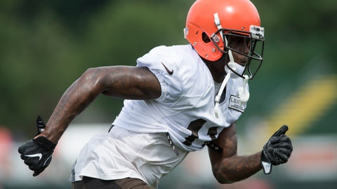 <p>               FILE - In this Thursday, Aug. 2, 2018 file photo, Cleveland Browns wide receiver Antonio Callaway runns a route during NFL football training camp, in Berea, Ohio. Callaway was cited for marijuana possession, the latest drama for one of the team's wide receivers. Callaway was pulled over by suburban Strongsville, Ohio police early Sunday morning, Aug. 5, and a small amount of marijuana was found under his seat. (AP Photo/Ken Blaze)             </p>