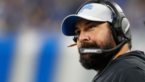 <p>               File- This Aug, 17, 2018, file photo shows Detroit Lions head coach Matt Patricia watching during the second half of a preseason NFL football game against the New York Giants in Detroit. The Lions made some renovations in and around their locker room perhaps trying to turn some little changes into big ones that really matter under Patricia. The Lions gave Patricia, the former New England assistant, his first head coaching job this year in the hopes he could bring some of what he learned from the Patriots to the Motor City. (AP Photo/Paul Sancya, File)             </p>