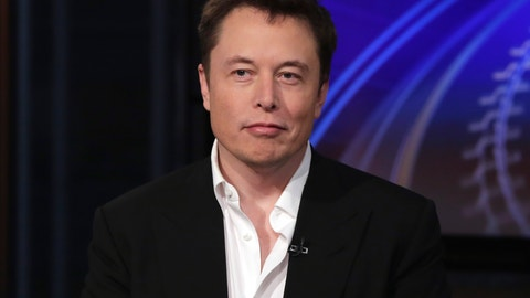 <p>               FILE - In this Wednesday, Sept. 17, 2014 file photo SpaceX billionaire founder and chief executive, and Tesla Motors CEO Elon Musk, is interviewed in New York. The billionaire's Boring Company tweeted Wednesday, Aug. 15, 2018, a proposal for autonomous, zero-emissions electric sleds that would run through a tunnel between the Dodger Stadium and a location in the city's Hollywood area. A proposal to build a gondola from Union Station to Dodger Stadium was announced in April. (AP Photo/Richard Drew, File)             </p>