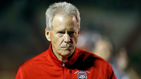 <p>               FILE - In this Oct. 20, 2017, file photo, New Mexico coach Bob Davie walks on the field during a timeout in the second half of an NCAA college football game against Colorado State in Albuquerque, N.M. New Mexico went into the 2017 season seemingly having turned the corner on a long reconstruction project. That momentum dissipated in the wake of a 3-9 finish that included losing the final seven games. The offseason brought coach Bob Davie's monthlong suspension coinciding with all of spring practice. (AP Photo/Andres Leighton)             </p>
