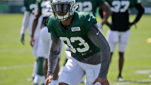 <p>               New York Jets' Jamal Adams participates during practice at the NFL football team's training camp in Florham Park, N.J., Wednesday, Aug. 1, 2018. (AP Photo/Seth Wenig)             </p>
