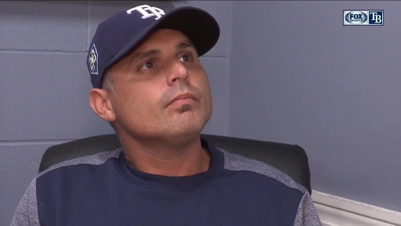Kevin Cash on tonight's rough start: 'the first inning was a fluke for us'