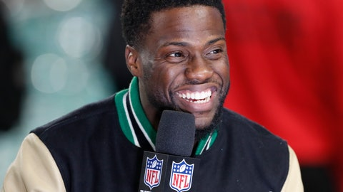 <p>               FILE - In this Feb. 4, 2018, file photo, Kevin Hart is interviewed after the Philadelphia Eagles defeated the New England Patriots in the NFL Super Bowl 52 football game in Minneapolis. The Professional Fighters League is the latest mixed martial arts promotion that will try and compete with UFC. Comedian Kevin Hart is among the investors in the league. (AP Photo/Tyler Kaufman, File)             </p>