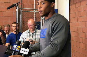 Saquon Barkley looking forward to first NFL preseason action