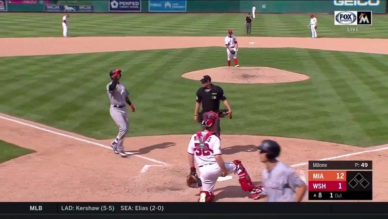 WATCH: Isaac Galloway hits 1st MLB home run