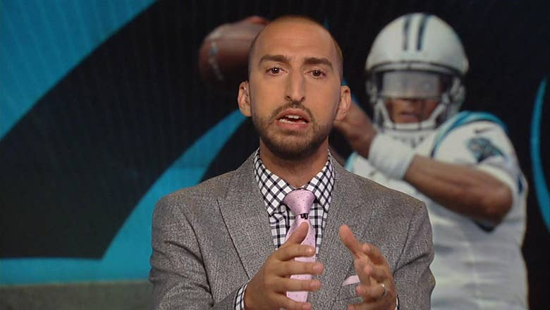 Nick Wright discusses Cam Newton and Kelvin Benjamin's interaction before Thursday's preseason game