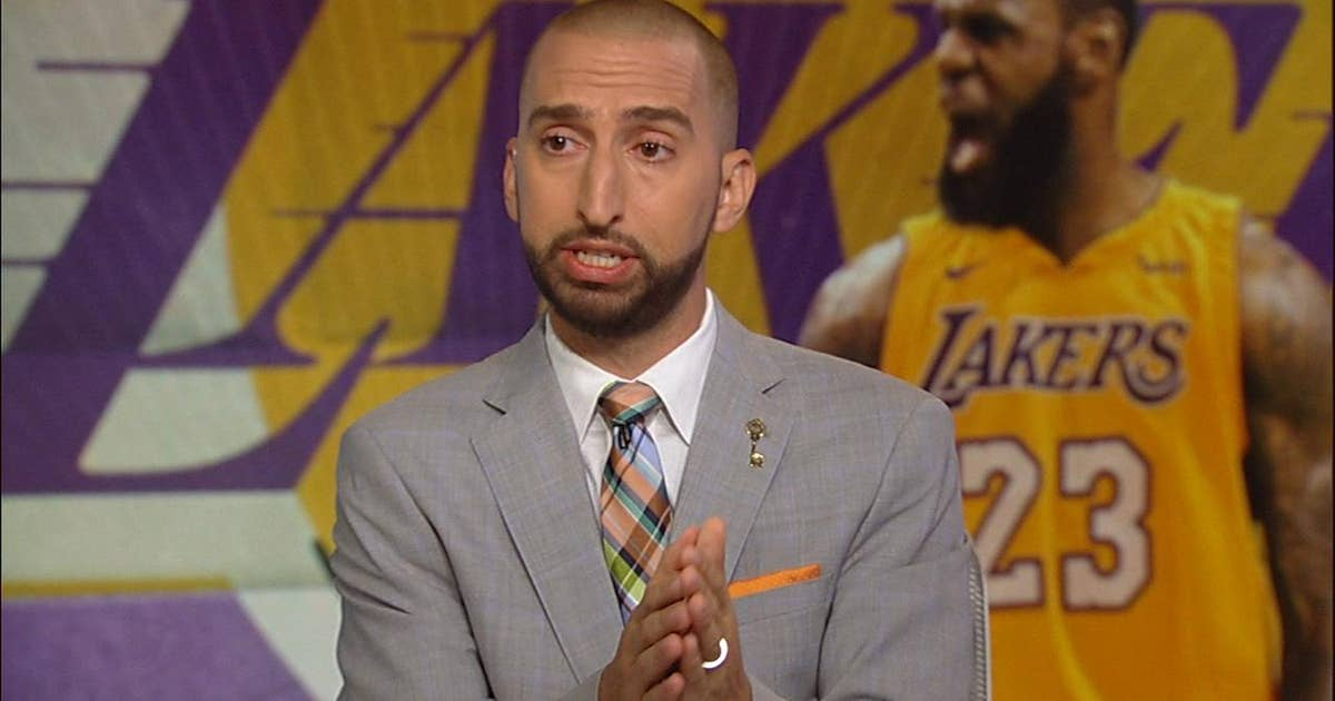 ed51b5e706d Nick Wright on why you shouldn t underestimate LeBron s Lakers