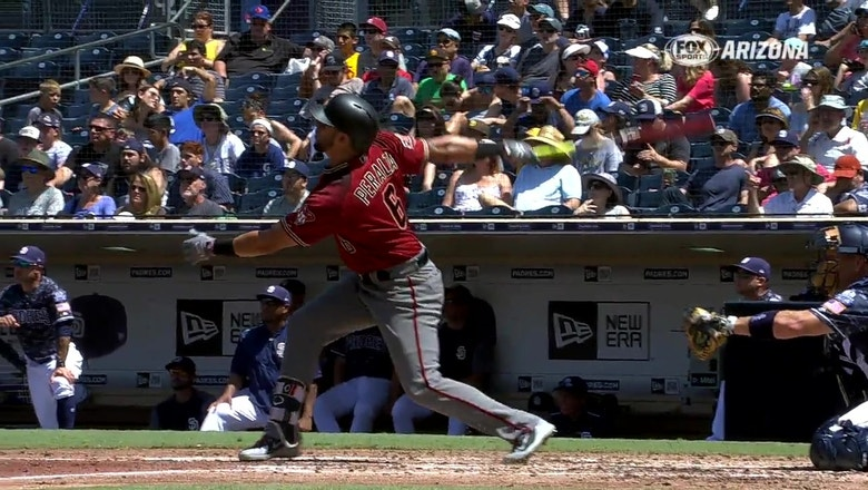 HIGHLIGHTS: D-backs use long ball to top Padres