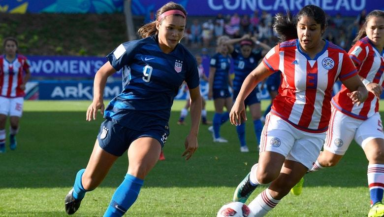 Sophia Smith scores incredible goal vs. Paraguay | 2018 FIFA U-20 Women's World Cup™ Highlights