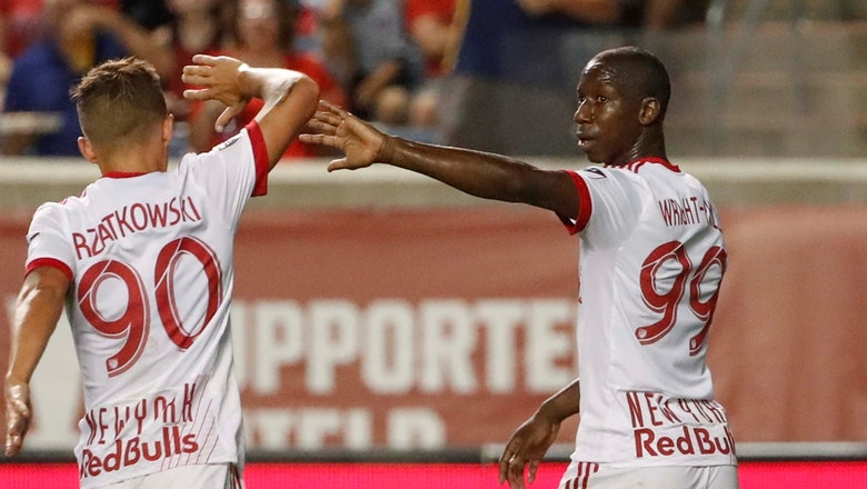 Bradley Wright-Phillips scores 15th goal of season   2018 MLS Highlights