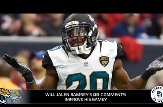 Will Jalen Ramsey's comments impact his season?