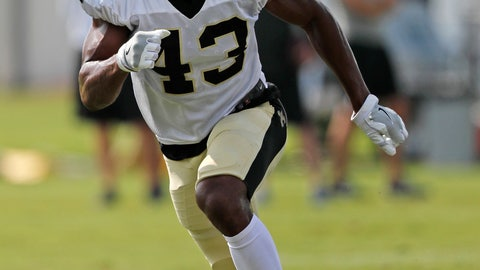 <p>               FILE - In this July 30, 2018, file photo, New Orleans Saints safety Marcus Williams (43) goes through drills during NFL football training camp in Metairie, La. New Orleans is counting on Williams, a 2017 second-round draft choice, to build on a largely promising rookie campaign that helped solidify the Saints' secondary and propel the club back to the playoffs for the first time in four years. (AP Photo/Gerald Herbert, File)             </p>