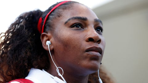 "<p>               FILE - In this Tuesday, July 31, 2018, file photo, Serena Williams, of the United States, waits to walk onto the court before the match against Johanna Konta, from Britain, during the Mubadala Silicon Valley Classic tennis tournament in San Jose, Calif. Williams says she's been struggling with postpartum emotions and wants other new moms to know they are ""totally normal."" (AP Photo/Tony Avelar, File)             </p>"
