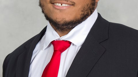 <p>               This photo provided by the University of Maryland shows Jordan McNair. As interim coach of the Maryland football team, Matt Canada is preparing the squad for Saturday's opener against No. 23 Texas, fulfilling his duties as offensive coordinator and, most importantly, making sure to keep the players focused in a season dedicated to fallen teammate Jordan McNair. (Greg Fiume/Univ. of Maryland via AP)             </p>