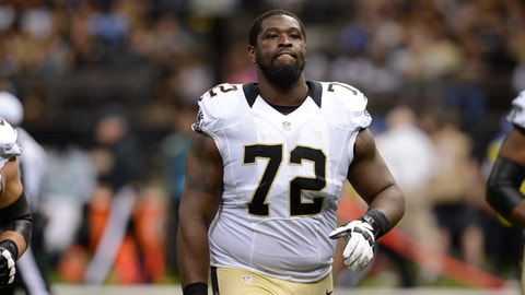 <p>               In this Aug. 22, 2015 photo, New Orleans Saints tackle Terron Armstead (72) walks on the field in the first half of a preseason NFL football game against the New England Patriots in New Orleans. Armstead says he's as confident in his physical form as he has been in years. Armstead says he has responded to recent injury-plagued seasons by traveling around the country and even overseas to see specialists for procedures or consults. (AP Photo/Bill Feig)             </p>