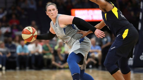 <p>               File-This July 3, 2018, file photo shows Minnesota Lynx's Lindsay Whalen being defended by Indiana Fever's Kelsey Mitchell during the first half of a WNBA basketball game in Minneapolis.  Whalen says she'll retire at the end of the season. Whalen has been balancing a new job as coach of the Minnesota Gophers with playing point for the Lynx. Her retirement will end a 15-year career that includes four championships with the Lynx, where the former Gopher star returned in 2010 after beginning her WNBA career in Connecticut. (Jerry Holt/Star Tribune via AP, File)             </p>