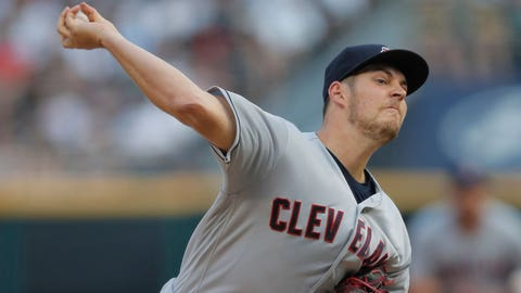 Trevor Bauer put on DL with stress fracture in right leg