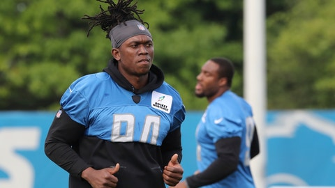 <p>               FILE - In this Aug. 1, 2018, file photo, Detroit Lions defensive end Ezekiel Ansah jogs during NFL football practice in Allen Park, Mich. The Detroit Lions have removed defensive end Ziggy Ansah from the active/physically unable to perform list. The Lions announced the move Monday, Aug. 6, 2018. (AP Photo/Carlos Osorio, File)             </p>