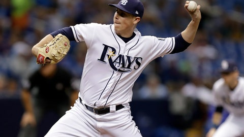 <p>               Tampa Bay Rays pitcher Ryan Yarbrough delivers to the Kansas City Royals during the third inning of a baseball game Monday, Aug. 20, 2018, in St. Petersburg, Fla. (AP Photo/Chris O'Meara)             </p>
