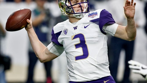 <p>               FILE - In this Dec. 30, 2017, file photo, Washington quarterback Jake Browning (3) throws against Penn State during the first half of the Fiesta Bowl NCAA college football game in Glendale, Ariz. Browning is hoping to repeat what Baker Mayfield did last year. Mayfield was a Heisman Trophy longshot in the preseason but ended up winning the award while leading Oklahoma to the College Football Playoff for the second time in three years. The senior leads a list of Heisman contenders who are off the radar. (AP Photo/Ross D. Franklin, File)             </p>