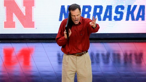 <p>               FILE - In this Dec. 17, 2015, file photo, Nebraska coach John Cook calls a play during the team's NCAA women's volleyball tournament semifinal against Kansas, in Omaha, Neb. The defending national champion Nebraska volleyball team has the same high expectations even though eight of its 15 players are newcomers. The second-ranked Cornhuskers have won two of the last three national titles and haven't missed the final four since 2014. (AP Photo/Nati Harnik, File)             </p>