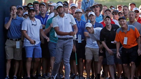 Tony Finau ties PGA Championship record with 10 birdies