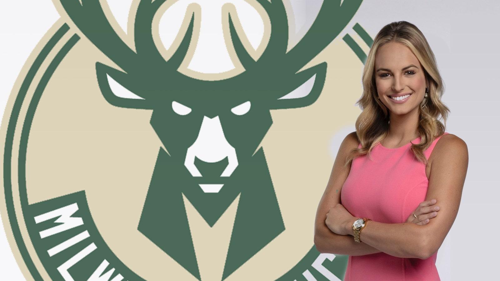 Bucks hire Katie George as sideline and digital reporter   FOX Sports