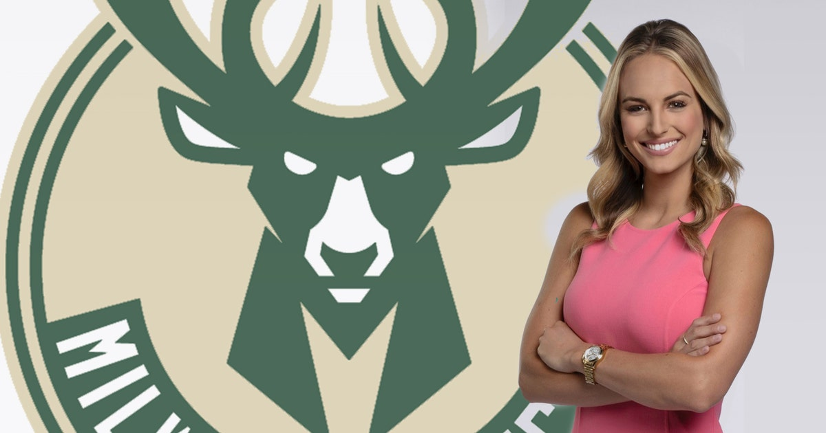 bucks hire katie george as sideline and digital reporter fox sports