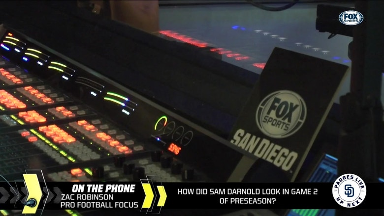 Pro Football Focus's Zac Robinson evaluates Sam Darnold's preseason performance