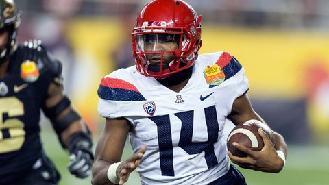 Khalil Tate, QB Arizona