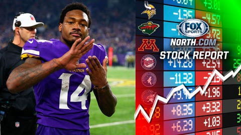 Stefon Diggs, Vikings receiver (UP ⬆)